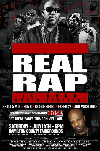 Real Rap Is Back Music Festival