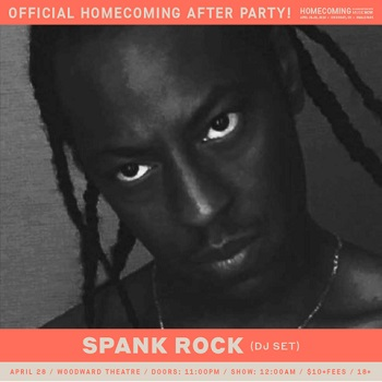 Official Homecoming After Party featuring Spank Rock (DJ)