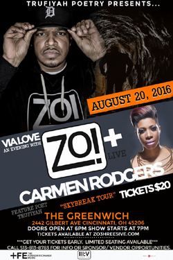 VIA LOVE: An Evening with Zo! and Carmen Rodgers